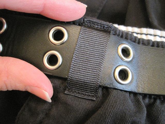 black belt loop