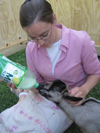 bottle feeding