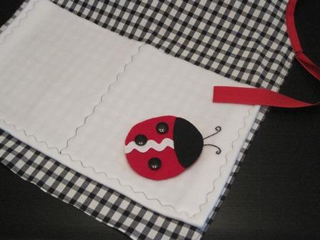 ladybug apron 1