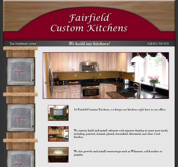 fairfield custom kitchens