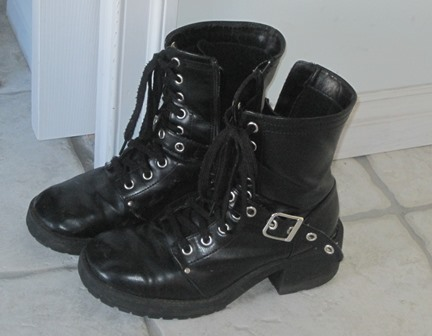 my beloved boots