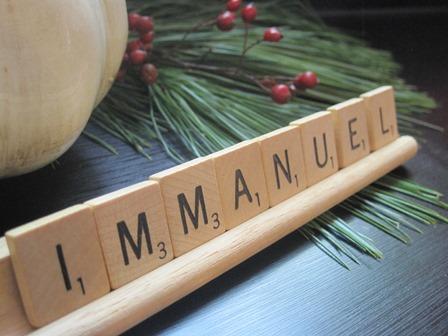 Scrabble word Immanuel